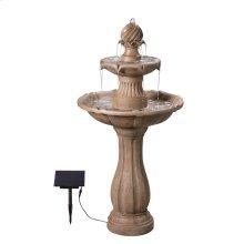 Frost - Outdoor Solar Floor Fountain