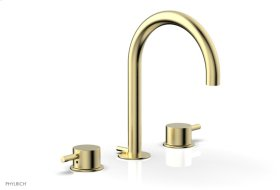 BASIC II Widespread Faucet 230-04 - Polished Brass Uncoated