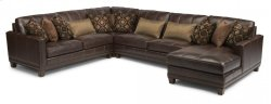 Port Royal Leather Sectional Product Image
