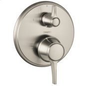 Brushed Nickel C Pressure Balance Trim with Diverter
