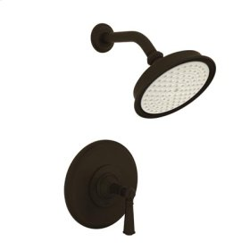 Oil-Rubbed-Bronze Balanced Pressure Shower Trim Set