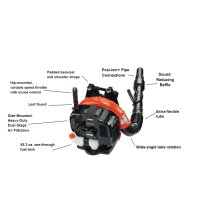 ECHO PB-760LNH Powerful Backpack Leaf Blower