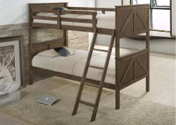 3015 Ashland Twin/Twin Bed with Dresser & Mirror