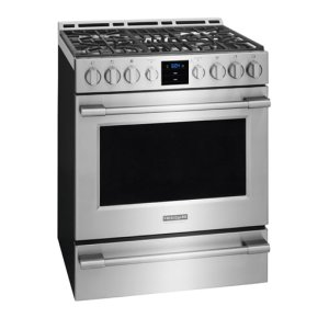 30'' Gas Front Control Freestanding