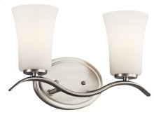 Armida 2 Light Vanity Light Brushed Nickel