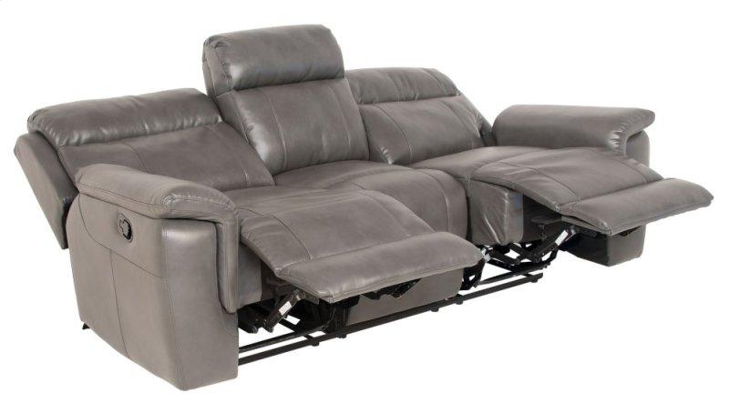 Dakota Recliner Sofa Gray