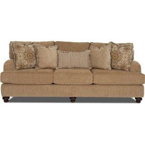 Klaussner Three Cushion Sofa