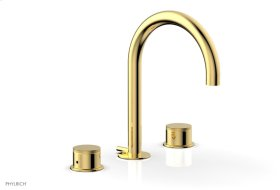 BASIC II Widespread Faucet 230-01 - Polished Gold