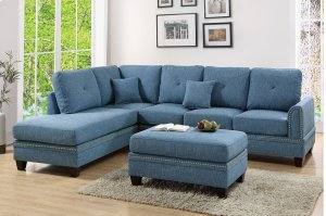 F6512 In By Poundex In Arlington Tx 2 Pcs Sectional Sofa