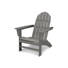 Slate Grey Vineyard Adirondack Chair
