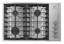 Gold® 30-inch Gas Cooktop with Recessed Grate Design