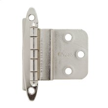 Non Self-closing, Face Mount 3/8 In (10 Mm) Inset Hinge