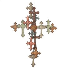 Multiple Cross Wall Decor