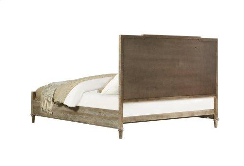 Emerald Home Interlude King Tufted Upholstered Bed Kit Sandstone B560-15-k