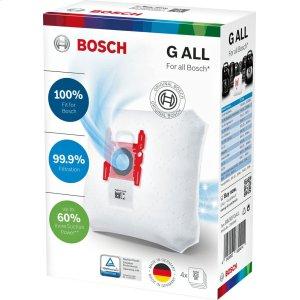 BoschVacuum Bags - Type G 4 Pack