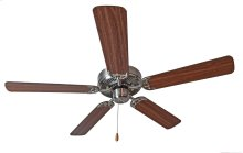 "Basic-Max 52"" Ceiling Fan Walnut/Pecan Blades"