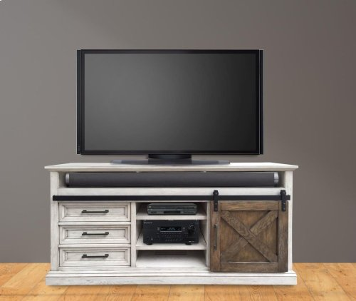 "67"" TV Console With Sliding Door"
