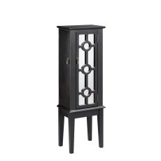 Hines Mirrored Jewelry Armoire Product Image
