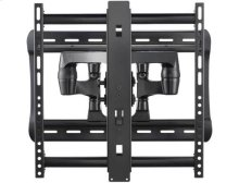 "Black Full-Motion Wall Mount Dual extension arms for 42"" - 90"" flat-panel TVs - extends 28"" / 71.12 cm"