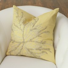 Flower Burst Pillow-Citrus