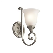 Monroe Collection Monroe 1 Light Wall Bracket NI