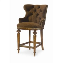 Tufted Counter Stool