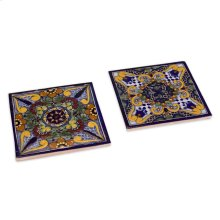 Moroccan Midnight Tile Trivets