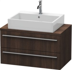 X-large Vanity Unit For Console Compact, Chestnut Dark (decor)