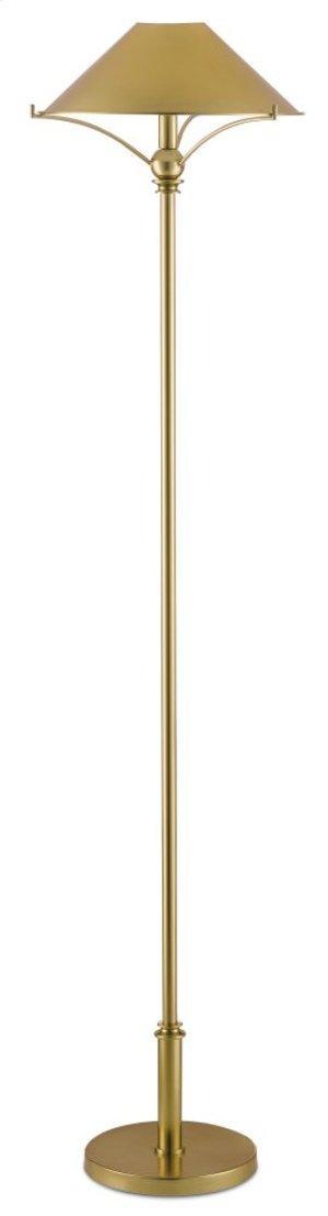 Maarla Brass Floor Lamp