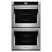 """KitchenAid® Smart Oven+ 30"""" Double Oven with Powered Attachments - Stainless Steel Product Image"""