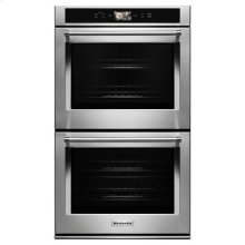 "KitchenAid® Smart Oven+ 30"" Double Oven with Powered Attachments - Stainless Steel"