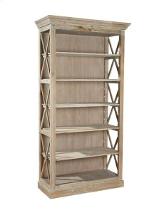 Weathered Open Bookcase Product Image