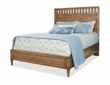 High Panel Bed Queen