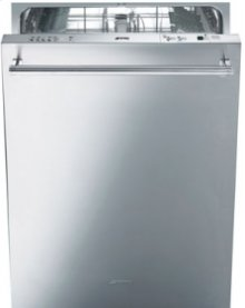 "DISPLAY MODEL 24"" Pre-Finished Dishwasher with Finger Print Proof Stainless Steel, Maxi-height Door and Professional Handle"