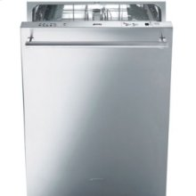 """24"""" Pre-Finished Dishwasher with Finger Print Proof Stainless Steel, Maxi-height Door and Professional Handle"""