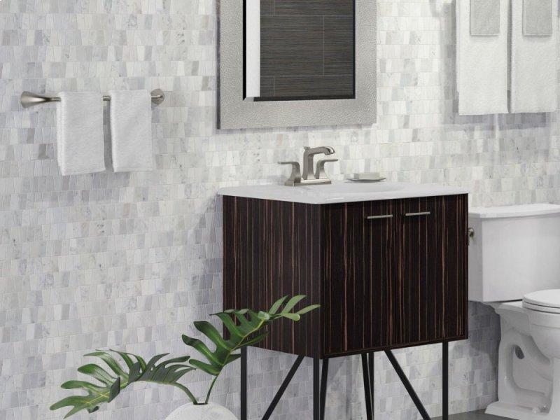 teak24 additional corduroy teak 24 wall hung bathroom vanity cabinet with 2 doors teak24de kleve
