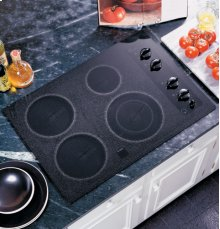 "GE Profile 30"" Built-In CleanDesign Electric Cooktop"