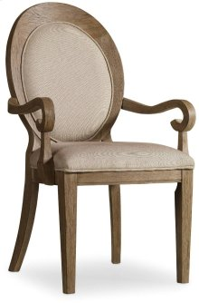 Corsica Oval Back Arm Chair