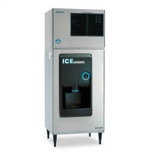 "30"" W Hotel/Motel Ice Dispenser - Stainless Steel Exterior"
