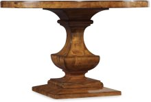 Tynecastle Round Pedestal Dining Table