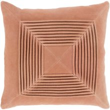 "Akira AKA-005 22"" x 22"" Pillow Shell with Down Insert"
