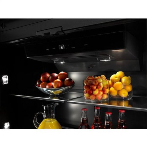 "36"" Fully Integrated Built-In Bottom-Freezer Refrigerator (Left-Hand Door Swing)"