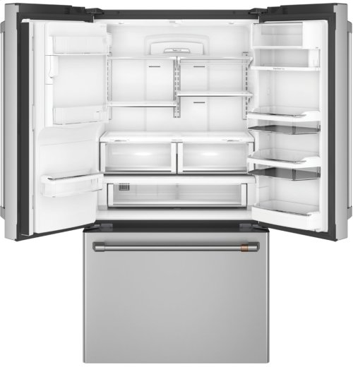 Café ENERGY STAR® 22.2 Cu. Ft. Counter-Depth French-Door Refrigerator with Keurig® K-Cup® Brewing System