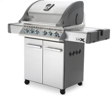 LEX 485 RSIB Stainless Steel with Infrared Side and Rear Burners