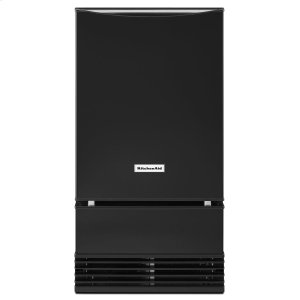 18'' Automatic Ice Maker - Black - BLACK