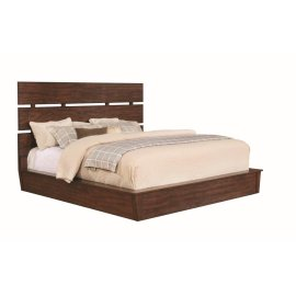 Artesia Industrial Dark Cocoa California King Five-piece Set
