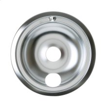 "ELECTRIC RANGE DRIP BOWL - 8"" CHROME"