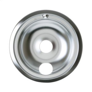 "GEELECTRIC RANGE DRIP BOWL - 8"" CHROME"