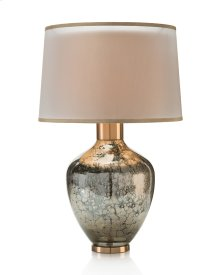 Handblown Mottled Table Lamp