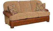 Edward Leather/Fabric Sofa
